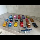 Disney Toys | Disney Cars Fleet Of 18 Vehicles Set | Color: Tan | Size: Osb
