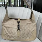 Gucci Bags   Gucci Beige Jackie Shoulder Bag   Color: Cream   Size: Os