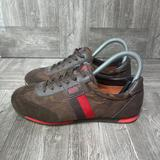 Coach Shoes   Coach Womens Brown Suede Lace Up Low Top Sneakers Shoes   Color: Brown   Size: 6