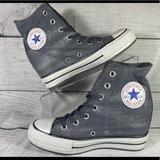 Converse Shoes | New Converse Chuck Taylor Hidden Heel Wedge | Color: Gray | Size: 7