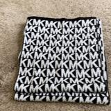 Michael Kors Accessories | New Michael Kors Scarf | Color: Black/White | Size: Os