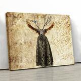 Trinx Garden Of Belief - Middle Eastern Contemporary Canvas Print Wall Art | Persian Art | Arabic Art | Persian Gift | Fine Art Canvas & Fabric