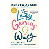 Penguin Random House Wellness Books - The Lazy Genius Way Paperback