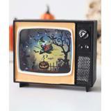Tricky Witty black - Black Witch LED Mini Retro TV Decor