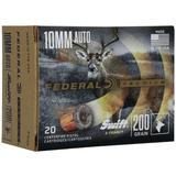 Federal Premium Ammunition 10mm Auto 200 Grain Swift A-Frame Jacketed Hollow Point