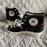 Converse Shoes | Rare 100th Anniversary For Converse Women Shoes | Color: Black/White | Size: 7.5