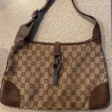 Gucci Bags   Gucci Beige Suede Jackie O Shoulder Bag   Color: Tan   Size: 12.5 X 8.25