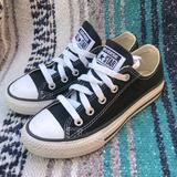 Converse Shoes | Converse All Star Youth Black Chuck Taylor Sneakers 12y | Color: Black/White | Size: 12b