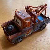 Disney Toys | Disney Pixar Mattel Car Toy Metal Plastic | Color: Blue/Brown | Size: One
