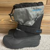 Columbia Shoes   Columbia Youth Black Snow Rain Winter Boots Unisex   Color: Black   Size: 4bb