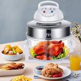 YXSUN 12L Air Fryer Turbo Oven Roaster Electric Cooker Multifunction Oilless Cooker w/ Automatic Power-Off Handle + 360 Degrees Rapid Technology Tasti Cri