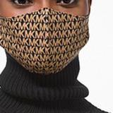 Michael Kors Other   Michael Korslogo Stretch Cotton Face Mask   Color: Tan   Size: Sm