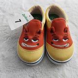 Disney Shoes | Disney Zootopia Boys Shoe | Color: Orange/Yellow | Size: 7bb