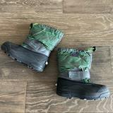 Columbia Shoes   Columbia Snow Boots   Color: Black/Green   Size: 13b