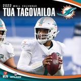 Tua Tagovailoa Miami Dolphins 2022 Player Wall Calendar