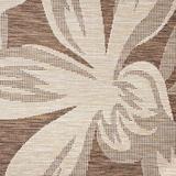 Dakota Fields Edda Transitional Floral Area Rug Polypropylene in Brown, Size 0.04 D in | Wayfair EEAFE7035EAD4F03AF300CA53E4B3809