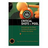 Penguin Random House Entertainment Books - The 99 Critical Shots in Pool Book
