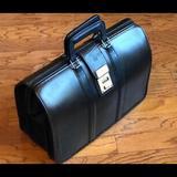 Coach Bags | Black Leather Legal Size Briefcase | Color: Black | Size: Legal