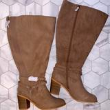 Torrid Shoes | Nwt Torrid Boots | Color: Silver/Tan | Size: 8