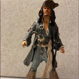 Disney Toys   Captain Jack Sparrow Talking Pirates Figure   Color: Brown/Gray   Size: Collectable