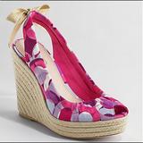 Coach Shoes   Coach Maritza Platform Wedge Espadrille Size 11   Color: Pink/Purple   Size: 11