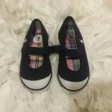 Polo By Ralph Lauren Shoes | Polo Ralph Lauren Girls Blue Mary Janes Sneakers | Color: Blue/White | Size: Various