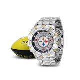 Invicta NFL Pittsburgh Steelers Men's Watch - 51mm Steel (36151)