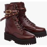 Chic Wilderness Combat Boots - Brown - Dorothee Schumacher Boots