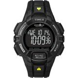 Ironman Rugged 30 Full-size Resin Strap Watch Black - Black - Timex Watches