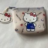 Hello Kitty opaque signature zipper bag