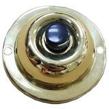 """Morris 78236 - 1.8"""" Brass Finish Unlit Doorbell Button (78236A)"""