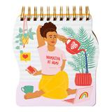 """""""""""""""Namastay at Home"""""""" Wire-Bound Notebook, Multicolor"""""""