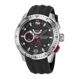 Nautica Men's Nst 101 Stainless Steel And Silicone Watch Multi, OS