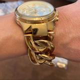 Michael Kors Accessories   Michael Kors Womens Gold Tone Link Bracelet Watch   Color: Gold   Size: Os