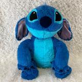 Disney Toys | Disney Stitch Super Soft Large Plush Stuffed Toy | Color: Blue | Size: Os