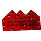 Disney Accessories | Disney Pirates Of The Caribbean Bandanas Set Of 3 | Color: Red | Size: Os