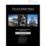 """Hahnemühle USA FineArt Glossy Inkjet Paper Sample Pack (8.5"""" x 11"""", 16 sheets)"""