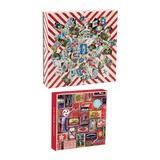 Galison Collage Play Challenging Jigsaw Puzzle Activity Pack