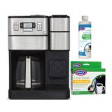 Cuisinart SS-GB1 Coffee Center Grind and Brew Plus with Brewer Cleaning Cups in SIlver