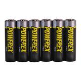 Rotolight Lionheart Rechargeable NiMH AA Batteries (6-Pack, 2700mAh) in Black