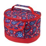 ZUCA Lunchbox - Paisley in Red (#1771)