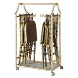 Aurora Folding Chair & Coat Rack with Ballroom Folding Chairs - Ballard Designs