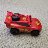 Disney Toys | Cars Lightening Mcqueen Makes Sounds Toy Disney | Color: Red | Size: Osb