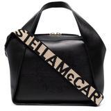 Shoulder Bag With Mini Stella Logo - Black - Stella McCartney Shoulder Bags