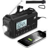 365usdeal Emergency Radio in Black, Size 6.5 H x 3.7 W x 2.9 D in | Wayfair PDWR-006