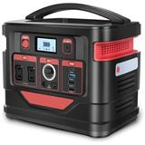VNBRED 80000mah Solar Power Generator w/ 2 Ac Outlets & Pd 100w Quick Charge, Backup Lithium Battery For Outdoor Camping, Home Use, Courtyard Dinner