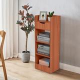 Latitude Run® Bookshelf Wood in Brown, Size 35.4 H x 13.0 W x 9.5 D in   Wayfair CE3FF393D4614F8C905D80ED4F52151B