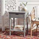 Darby Home Co Port Chester 1 Drawer Accent Table Wood in Gray, Size 26.0 H x 19.0 W x 16.0 D in   Wayfair CAA8EA5F5E0344EF825C5014FCA55451