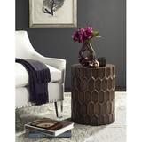 Corrigan Studio® Corey Side Tables in Brown, Size 20.0 H x 15.0 W x 15.0 D in   Wayfair 0349A98B9AFF478AB627DDD75FAC859E