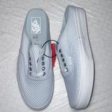 Vans Shoes | Authentic Mule Slip On Vans Women Checkerboard | Color: Blue/White | Size: Various